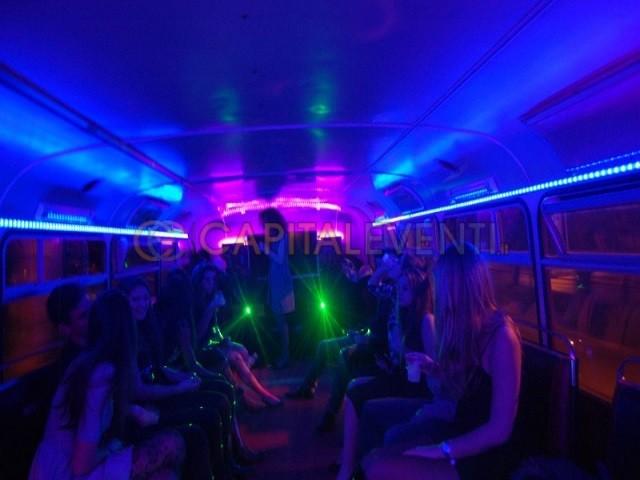Festa in bus Inglese Roma 4